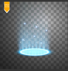magic portal of fantasy futuristic teleport vector image