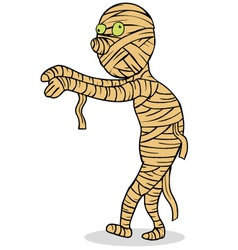 Mummy cartoon vector