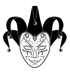 Theatrical mask 9 vector
