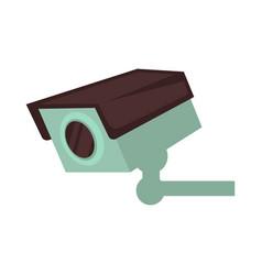 night club security surveillance camera vector image