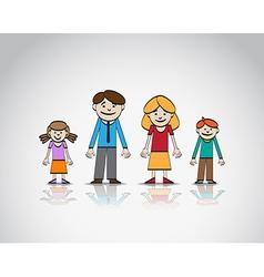 Family sketch vector