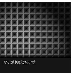 Metal background vector image vector image