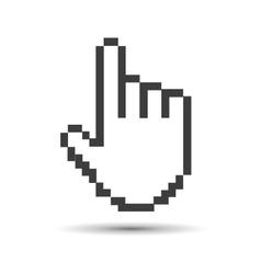 pointer cursor vector image vector image