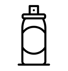 Air deodorant icon outline style vector