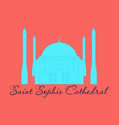 Cartoon turkey symbols and objects set saint vector