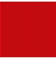 Red galousie Volume of vertical lines vector image