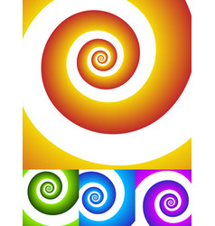 Rotating spiral graphic swirling whirling vector