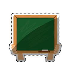 school blackboad isolated vector image