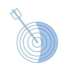 Target arrow marketing business successful design vector