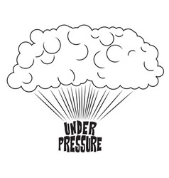 Under pressure vector