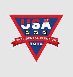 2020 usa presidential election vote vector