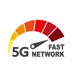 5g network wireless technology vector image