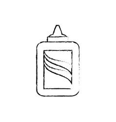 bottle of glue vector image