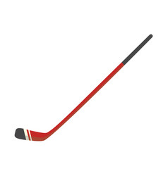 ice hockey stick flat icon for team sport vector image