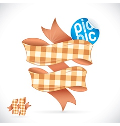 Picnic Sign vector image