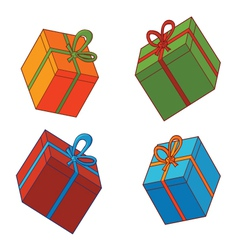 Various presents vector image
