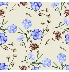 Watercolor linen pattern vector