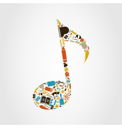 Art the note vector