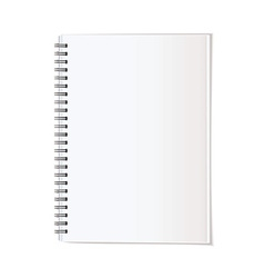 Portrait note pad vector image vector image
