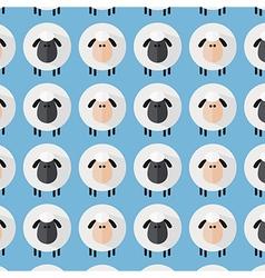 Cute Blue Sheep Wallpaper vector