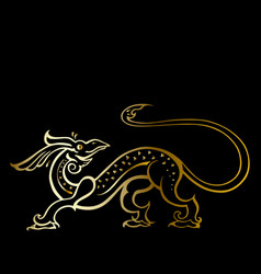 dragon traditional ethnic vector image