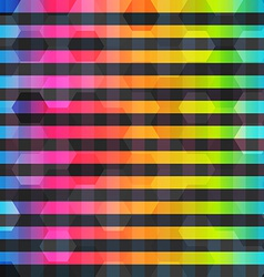 rainbow color lines seamless pattern vector image