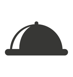 serving tray isolated icon design vector image