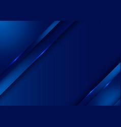 template design abstract dark blue gradient vector image