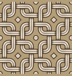 viking seamless pattern - engraved - chained vector image