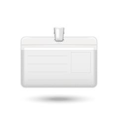 Badge realistic icon vector image