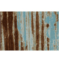 Background Rusty Galvanized iron plate vector image