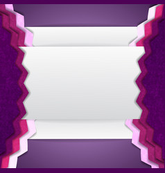 abstract purple composition vector image