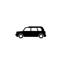 car taxi icon element of car type icon premium vector image
