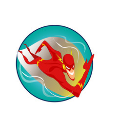 cartoon fast speed vector image