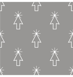 Click seamless pattern vector image