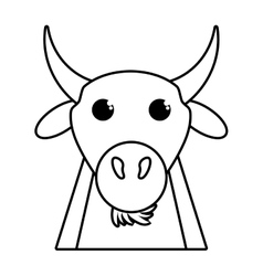 Coat animal farm isolated icon vector