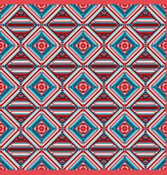 geometric rhombus seamless pattern vector image