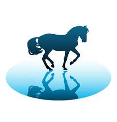 running horses1 vector image vector image