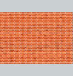 Seamless classic header bond brick wall texture vector