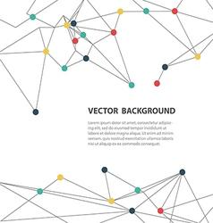 polygonal background3 vector image