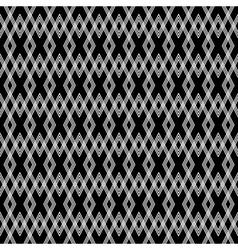 seamless diamond texture vector image