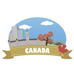 Canada vector image