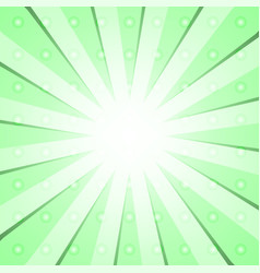 Green radial background vector