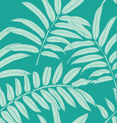 leaf seamless pattern4 vector image
