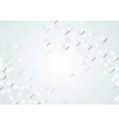 Light grey tech background vector image