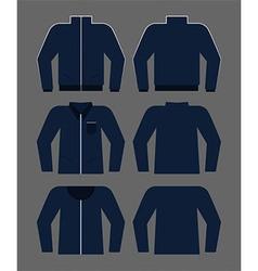 Man clothes set vector image