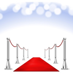 Red carpet vector