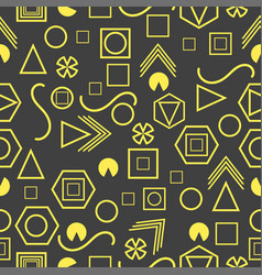 seamless pattern with geometric figures in the vector image
