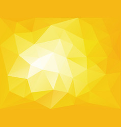 yellow horizontal low polygonal vector image