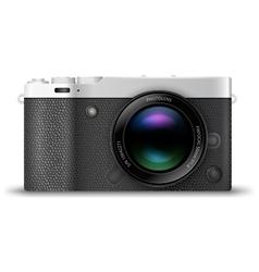 Mirrorless compact camera vector image vector image